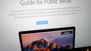Non ricevere aggiornamenti beta di mac OS Sierra
