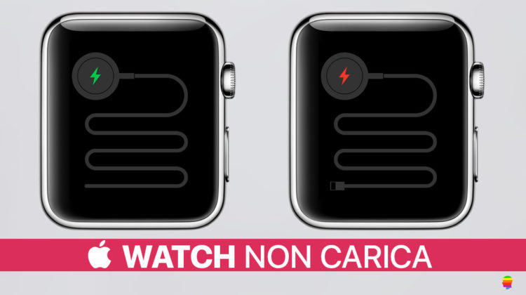 Apple Watch non si carica o non si accende