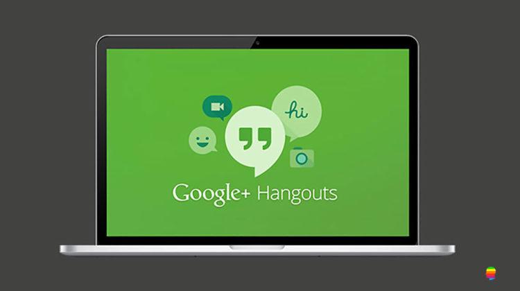 Configurare Google chat, hangouts su Mac con l'app Messaggi