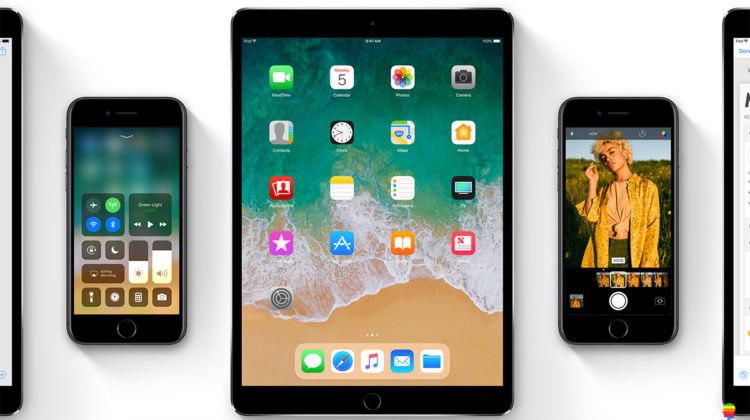 iPhone e iPad compatibili con iOS 11