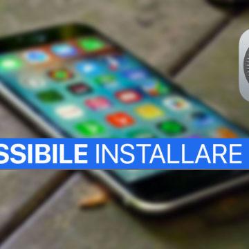 Impossibile installare iOS 11 su iPhone e iPad