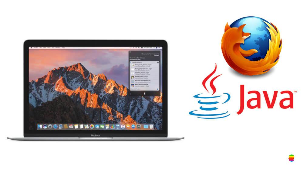 Usare Java su Firefox con macOS Sierra e High Sierra