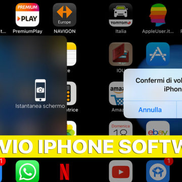 Riavviare iPhone e iPad senza pulsanti, via software