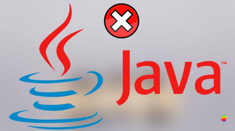 Rimuovere Java su mac OS