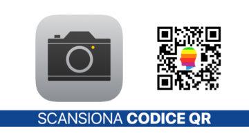 iOS 11, Leggere codice QR con fotocamera iPhone e iPad