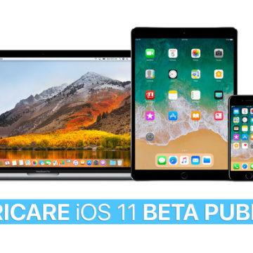 Scaricare iOS 11 Beta Pubblica