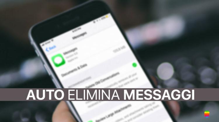 Liberare spazio Messaggi in Automatico su iPhone e iPad