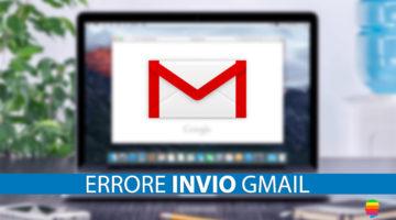 Server SMTP di Gmail non in linea su Mail di Mac OS