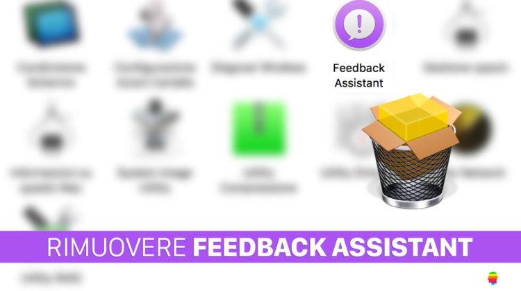 High Sierra, Eliminare applicazione Feedback Assistant
