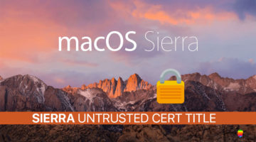 macOS Sierra, Untrusted_Cert_Title