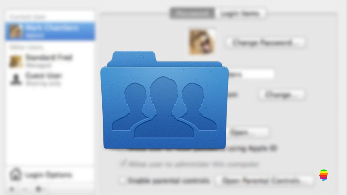 Creare un gruppo di utenti su macOS Sierra