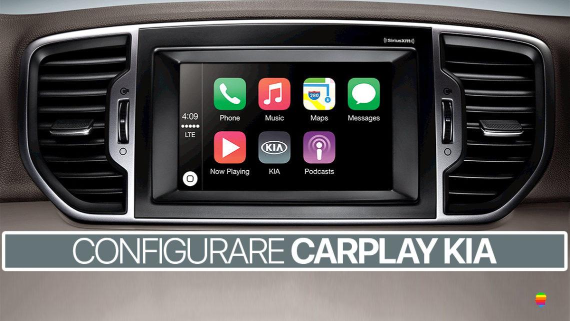 Configurare CarPlay KIA su iPhone