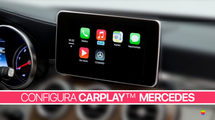 Configurare CarPlay Mercedes Benz su iPhone