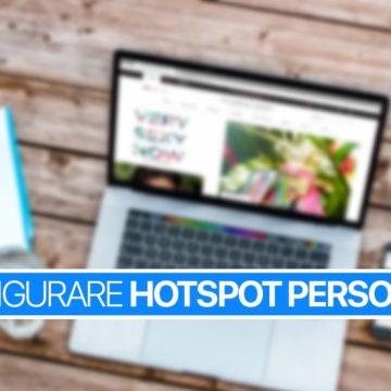 Usare, configurare, condividere connessione Hotspot Personale su iPhone e iPad