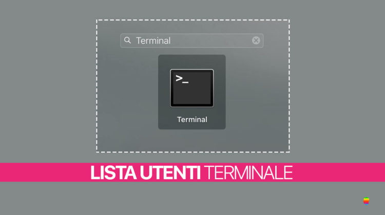 Elenco lista utenti su Mac da Terminale