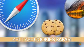 Safari, attivare cookies su macOS High Sierra