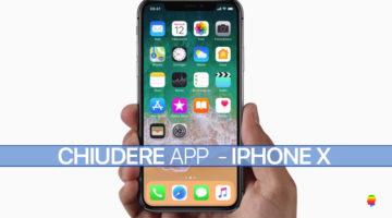 Come Chiudere le App su iPhone X
