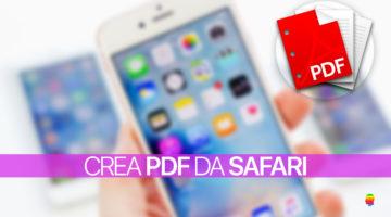 Salvare pagine web in PDF su iPhone e iPad