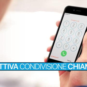 Disattiva condivisione registro chiamate su iPhone e iPad