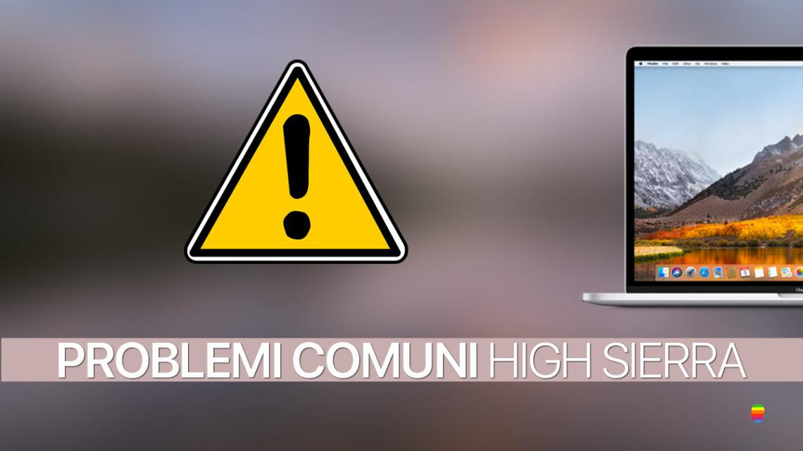 macOS High Sierra, Problemi comuni di Download e Installazione