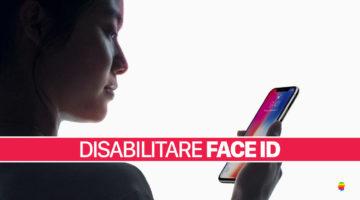 Come Disattivare il Face ID su iPhone X