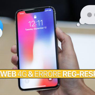 Soluzione, SIM Fastweb 4G errore REG-RESP v=3 su iPhone e iPad