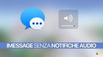 iPhone e iMessage, nessuna notifica audio, non suona