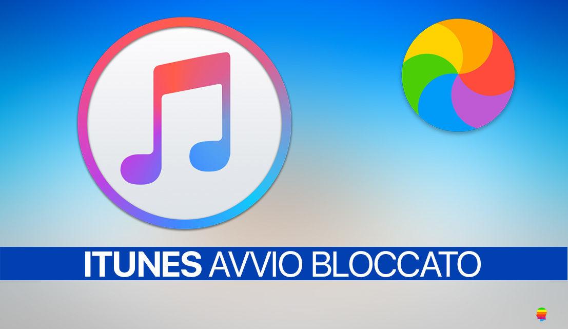 iTunes su macOS non si apre, non si avvia e rimane bloccato in caricamento