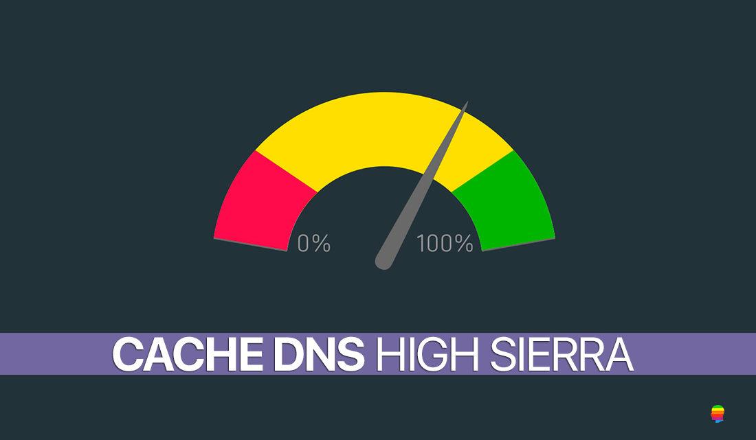 High Sierra: pulire, cancellare cache servizio DNS