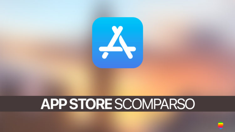 Soluzione, icona App Store scomparsa su iPhone e iPad