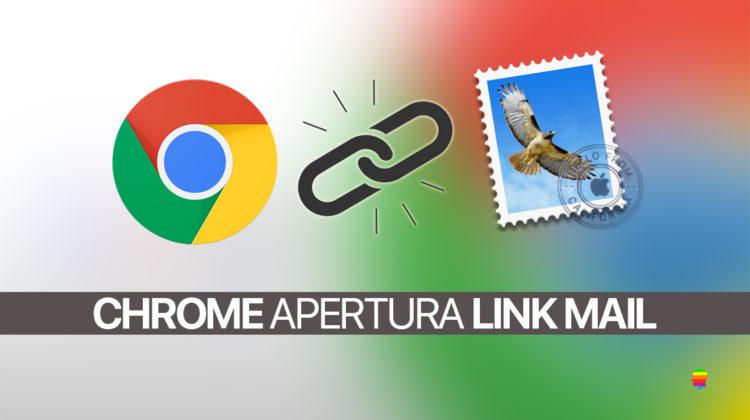 Link ipertesto di Mail non funzionano con Chrome dopo aggiornamento High Sierra