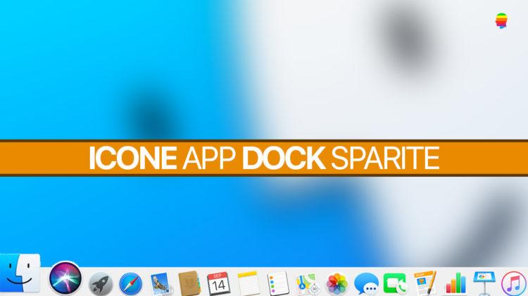 Soluzione, immagini icone applicazioni nel dock sparite