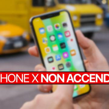 Soluzione: iPhone X non si accende rimane bloccato con schermo spento nero
