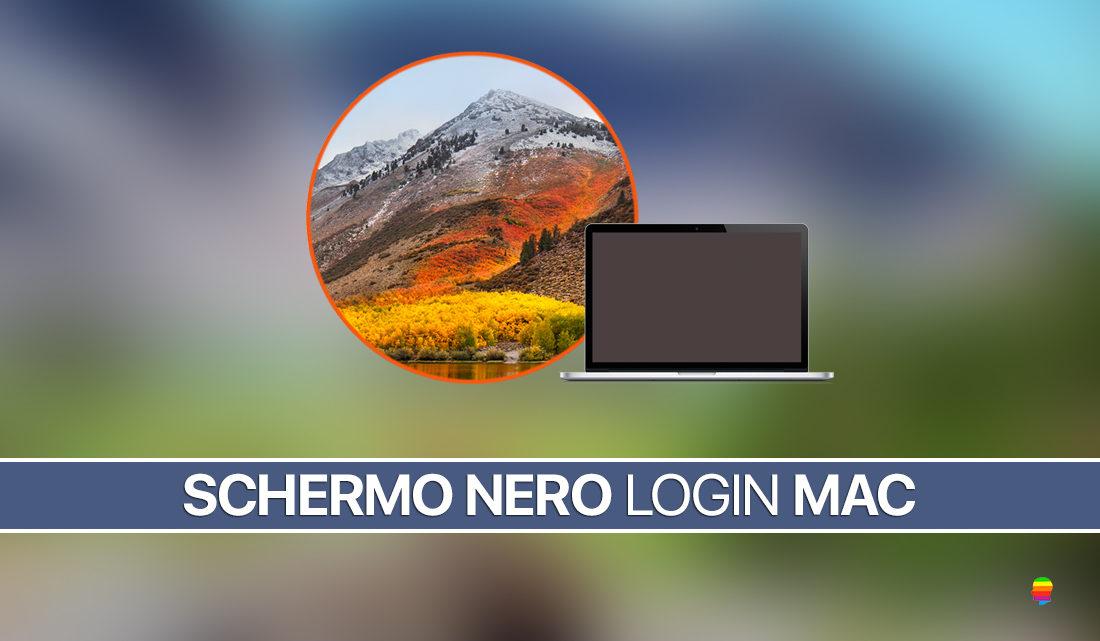 Schermo nero nella finestra di login di macos high sierra - Er finestra mac ...