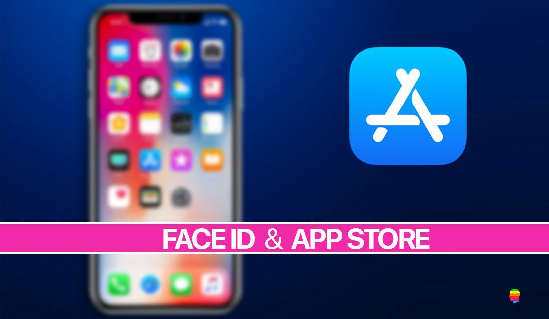 Usare Face ID per scaricare, acquistare da App Store su iPhone X