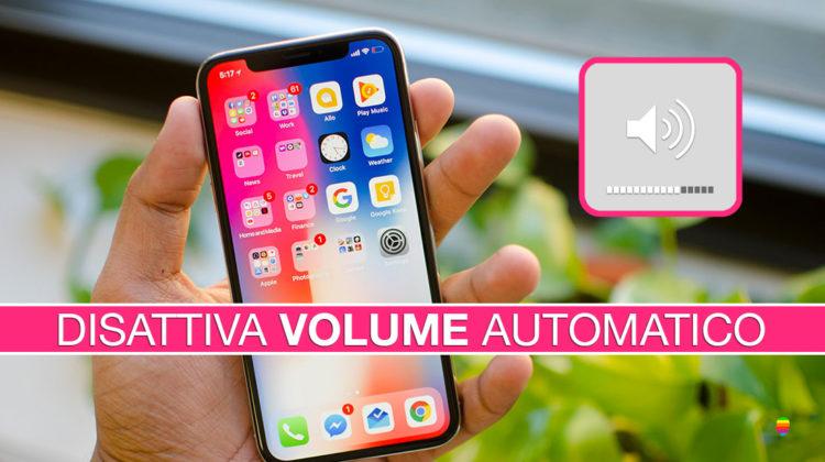 iPhone X, volume suoneria si abbassa, si riduce in automatico (Soluzione)