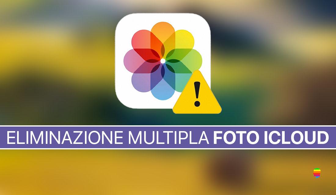 Come eliminare più foto alla volta dalla Libreria iCloud con Safari