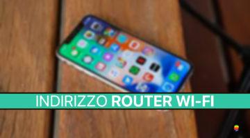 Come trovare indirizzo IP del Router Wi-Fi su iPhone e iPad