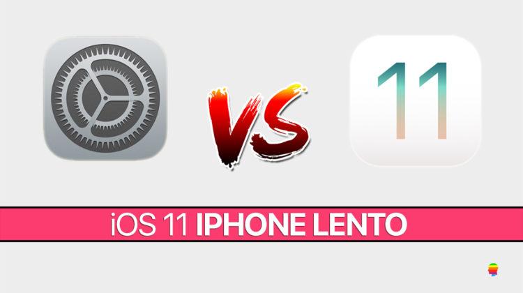 iPhone 6s, iPhone 6 e 5s troppo lenti con iOS 11: soluzione
