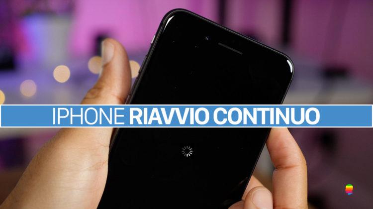 iOS 11, iPhone e iPad si riavviano di continuo con schermo nero e rotella che gira