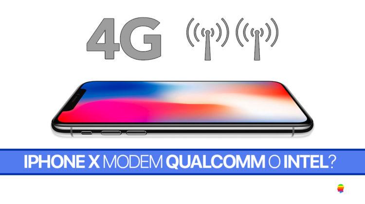 Scoprire se il proprio iPhone X monta il modem LTE di Qualcomm o Intel