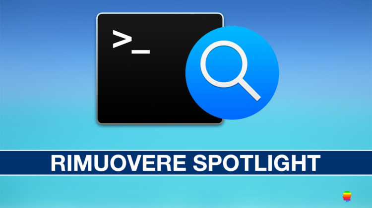 Rimuovere icona Spotlight dalla barra dei menu su macOS