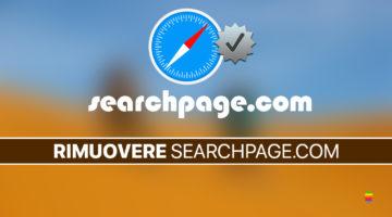 Rimuovere virus Searchpage.com da Safari (Home page) su macOS