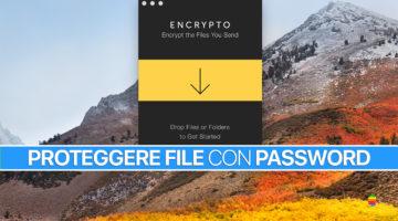 Ecco come proteggere file con password su macOS