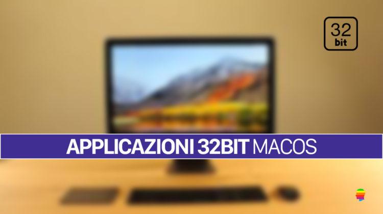 Come riconoscere le Applicazioni a 32bit su macOS