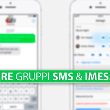 Inviare SMS e iMessage di gruppo su iPhone, aggiungere, rimuovere persone o lasciare gruppo
