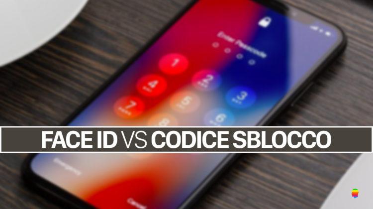 Face ID, richiamare velocemente la tastiera per il codice sblocco iPhone