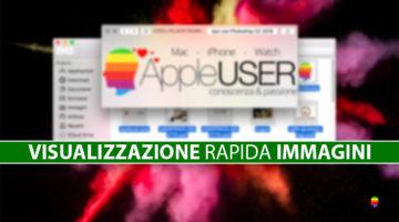 Visualizzazione rapida immagini cartella su Mac (Visualizza foto come su Windows)