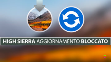 High Sierra, bloccato dopo aggiornamento al 100%: too many corpses being created