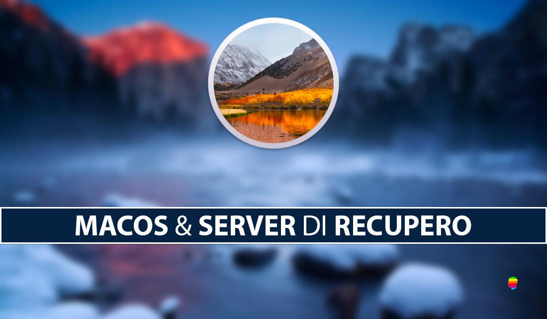 Impossibile contattare il server di recupero reinstallazione macOS High Sierra